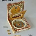 """Delalande exhibition book """"Cadrans solaires / sundials"""""""