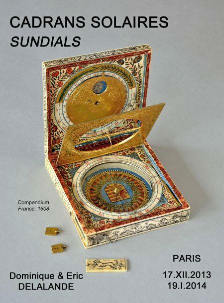 Delalande exhibition book on portable sundials