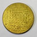 """1802 calendar medal by Kempson """" Kindon"""