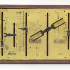 A rare German weight analogue Calculator