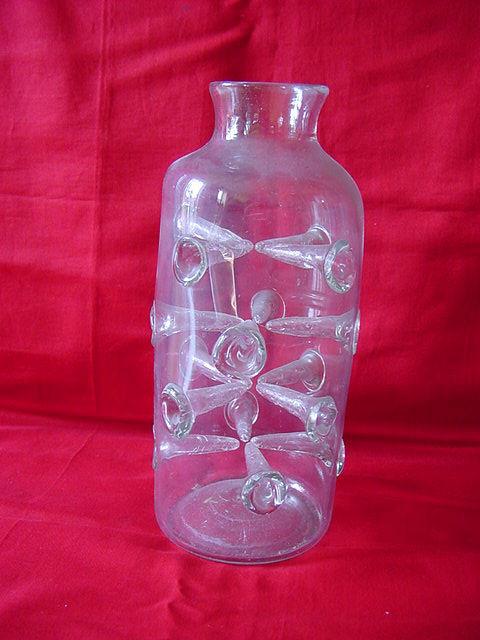 Exc. rare glass Leeches Jar