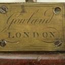 English Georgian Marine Stick Barometer Gowland London