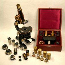 Beautiful 1920s Microscope  Ernst Leitz Wetzlar