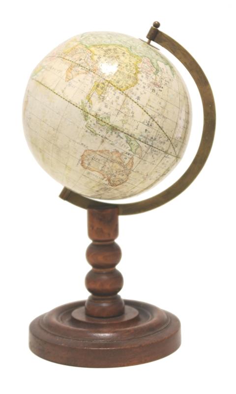 Japanese Terrestrial Table Globe.