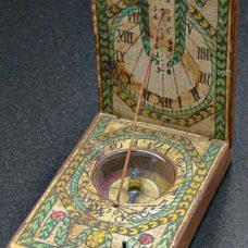 A German Diptych dial circa 1780-1790