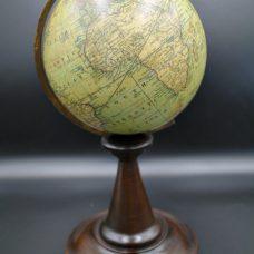 A six inch diameter globe by Cruchley,London,dated 1867