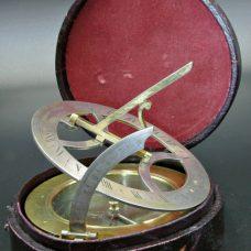 A fine inclining dial by Silberrad,London,circa 1800