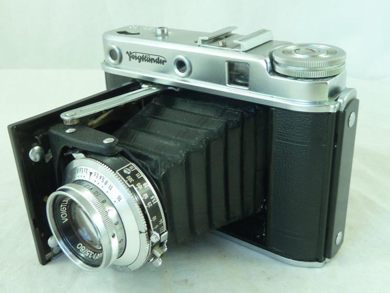 Voigtlander Perkeo E Rangefinder Camera Folding 6×6 Colour Skopar Vintage