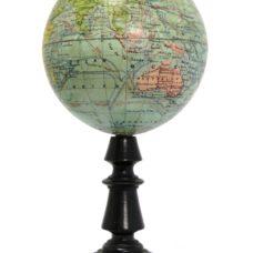 Globe Terrestre Echelle de 0m. 0001m. Pour 1 degré ou mm. mmetres.
