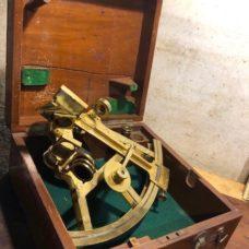 Watkins & Hill Double-frame Brass Sextant