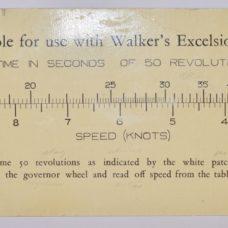 Excelsior IV Ship-log with Rotator – Walkers, Birmingham