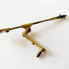 Hugh Powell Antique Microscope Stage Forceps c1840