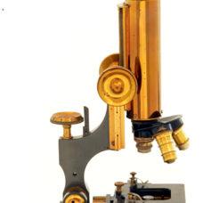Watson 'Edinburgh H' microscope (1906)