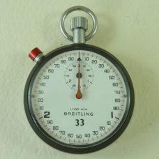 Breitling 33 Stopwatch Pocket Watch 7 Jewels 7701 1/100 Second Split Hands Vintage