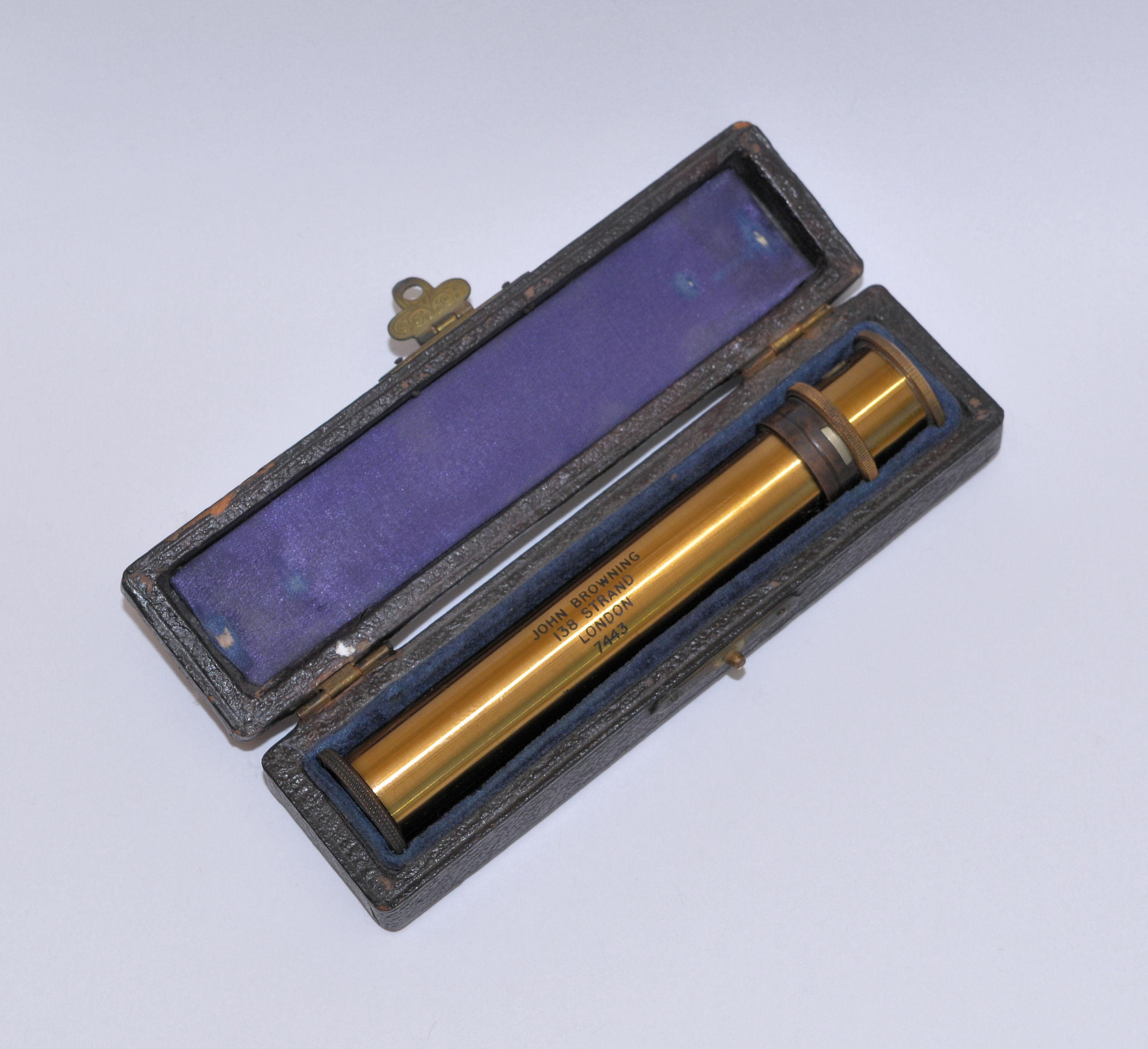 Spectroscope in case – John Browning