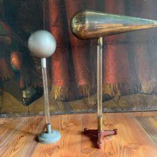 2 Antique Electrostatic Induction apparatus