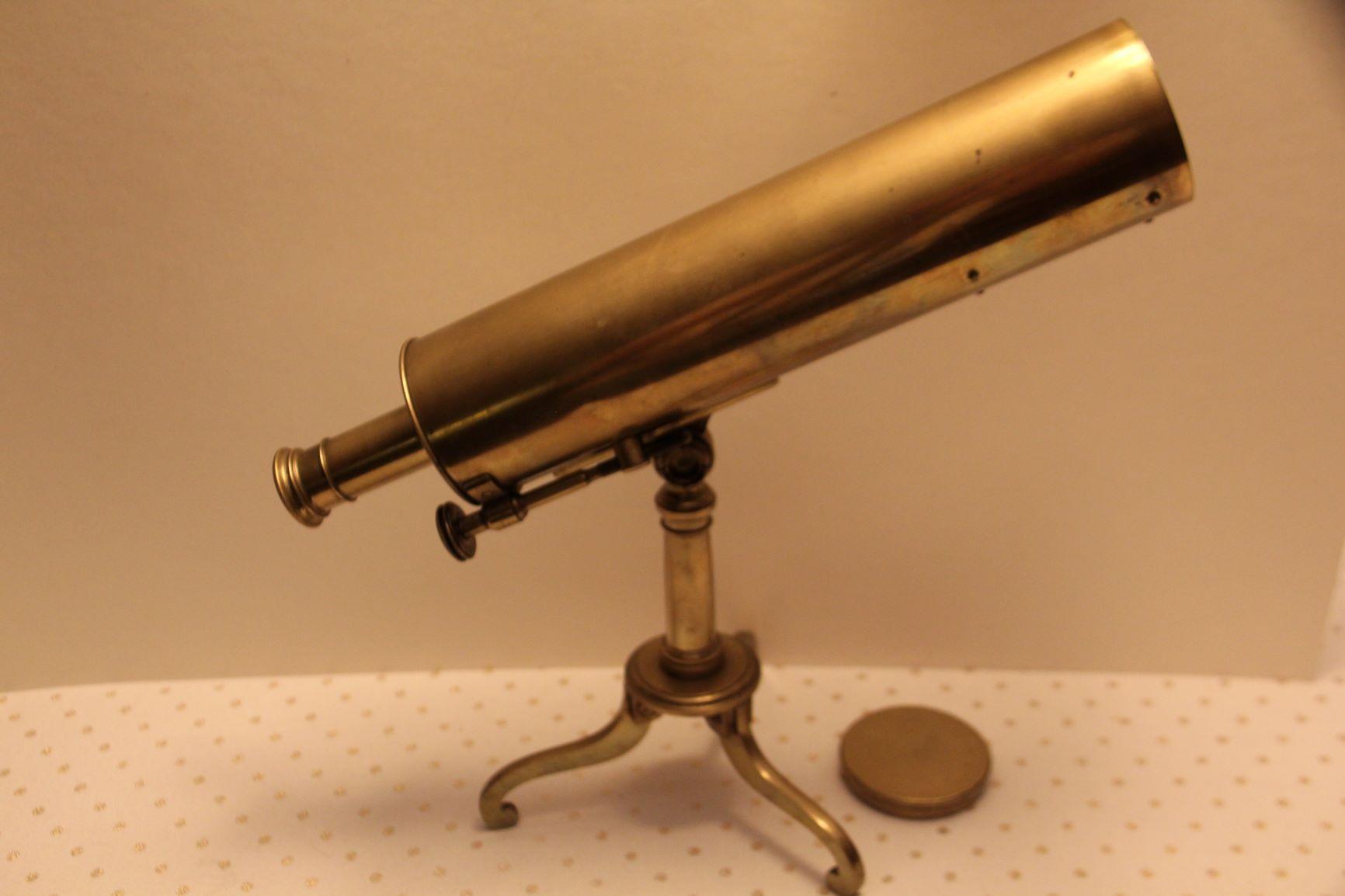 ~GOOD 2 3/4 INCH DIAMETER REFLECTING TELESCOPE by JOHN CUTHBERT~(ON HOLD)