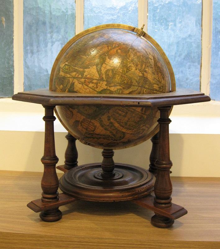 Coronelli's celestial globe, circa 1900