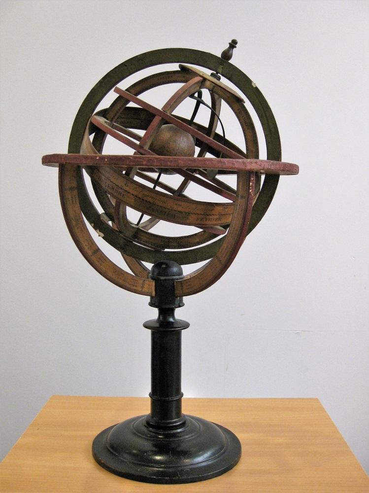 Ptolemaic Armillary Sphere by Delamarche, circa 1840-1851