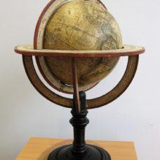 A 21cm diameter terrestrial globe by Felix Delamarche, 1829