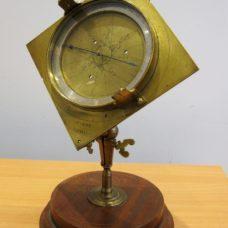 Haye's surveying compendium – surveying compass and quadrant, circa 1710