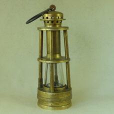 Ashworths Patent Hepplewhite Gray Davis Derby Coal Miners Lamp  Patent Antique