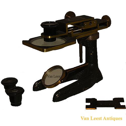 J. Gambs Textile microscope, C 1900