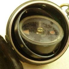 Negretti & Zambra Gimballed Pocket Compass Victorian