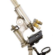 "Nickel ""Grand Modele"" Nachet microscope (1870)"