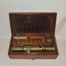 Martin type drum microscope – Henry Comyns, Chelsea.