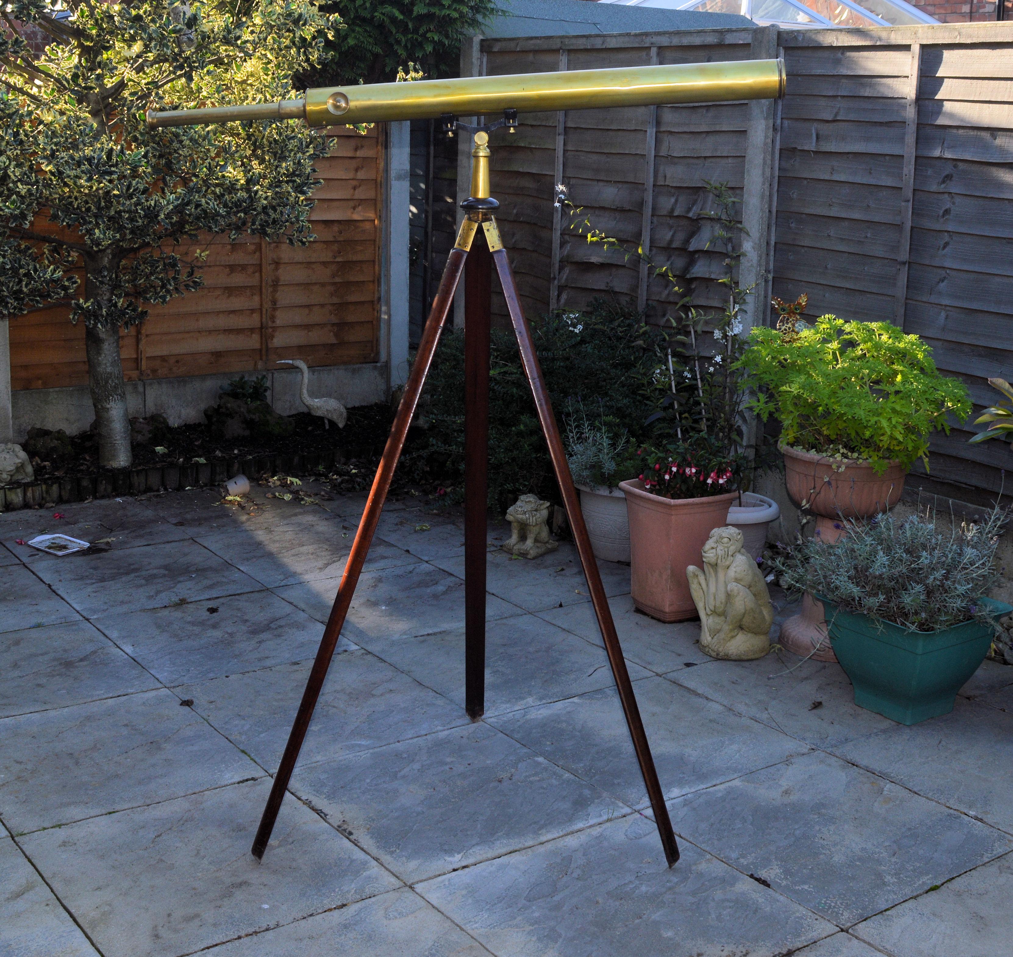 Telescope & tripod – Watson & Son.