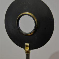 A mounted biconvexe quartz lens by Duboscq-Pellin, 1880s'