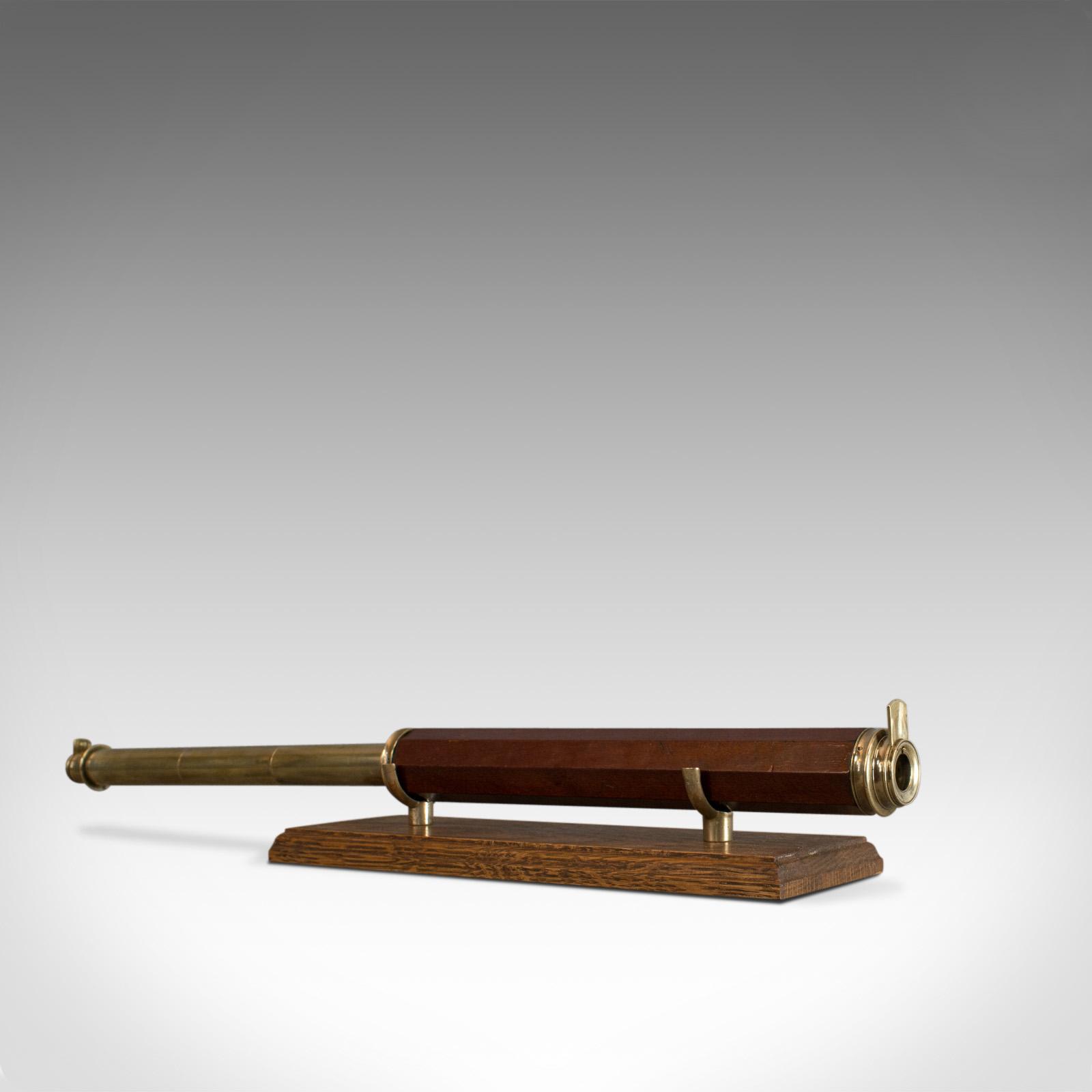 Antique Telescope, English, Single Draw Refractor, Astronomical, Circa 1760