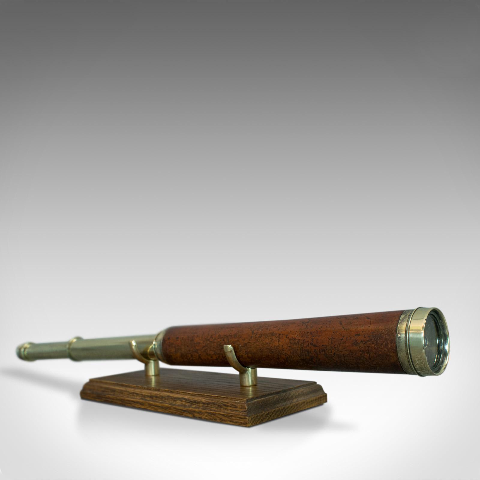 Antique, Telescope, 2 Draw, Terrestrial, Astronomical, English, Georgian, C.1760