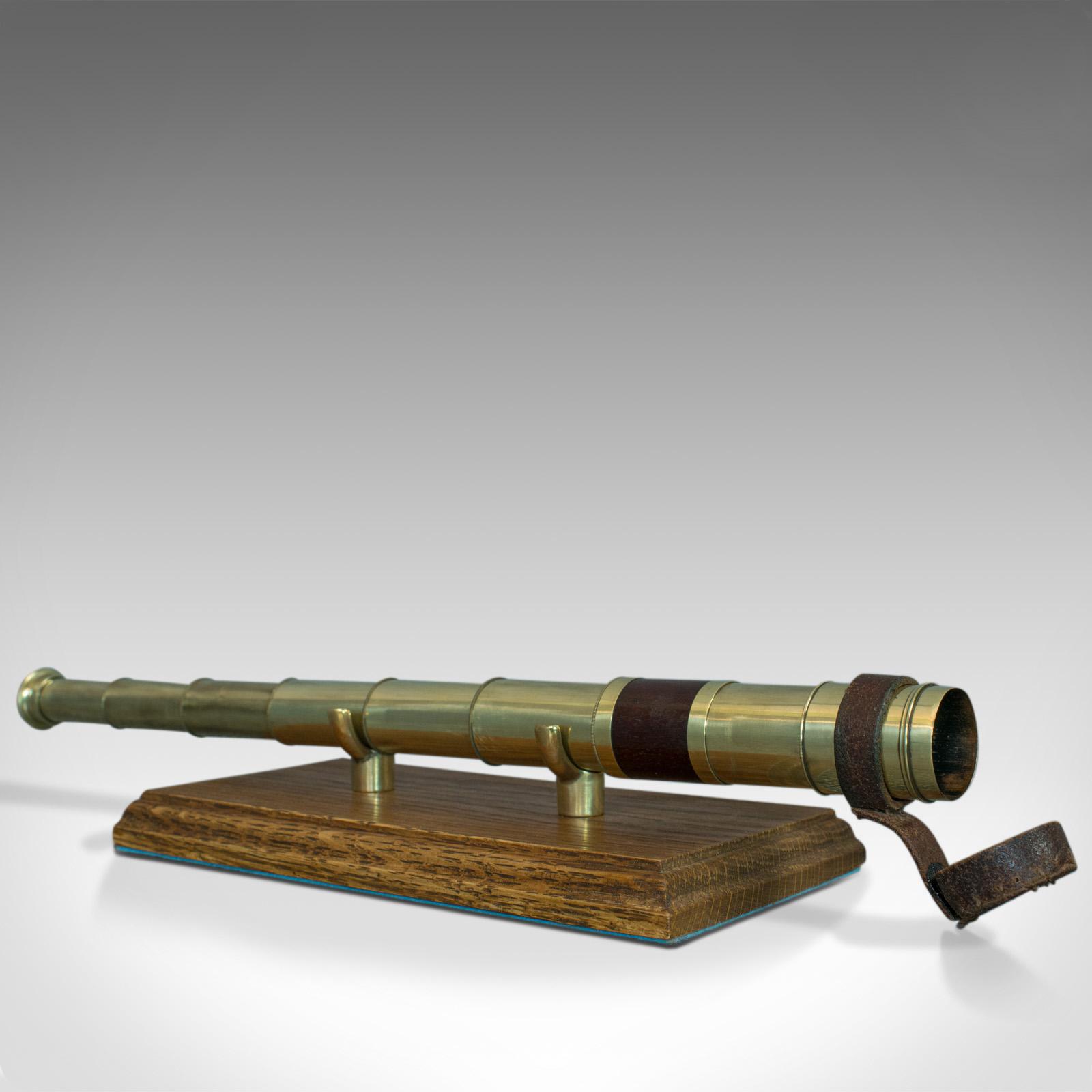 Antique, Pocket Telescope, 6 Draw, English, Compact, Negretti and Zambra, C.1860