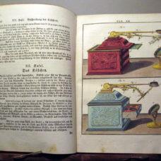 LEDERMULLER Book on MICROSCOPES, 152 HAND-COLOUR. Pls.- NACHET COPY