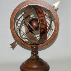 Armillery sphere. Ex – window display model