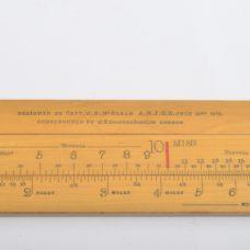 Rare Land- and Sea Speed reckoner – McClean, 1919
