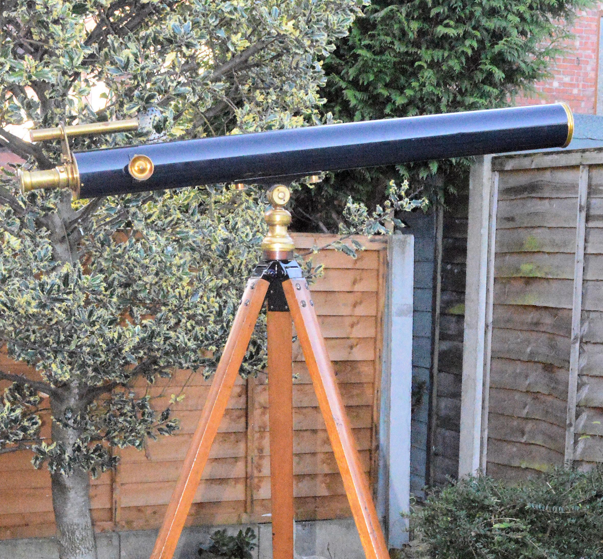 SOLD – Watson telescope and tripod