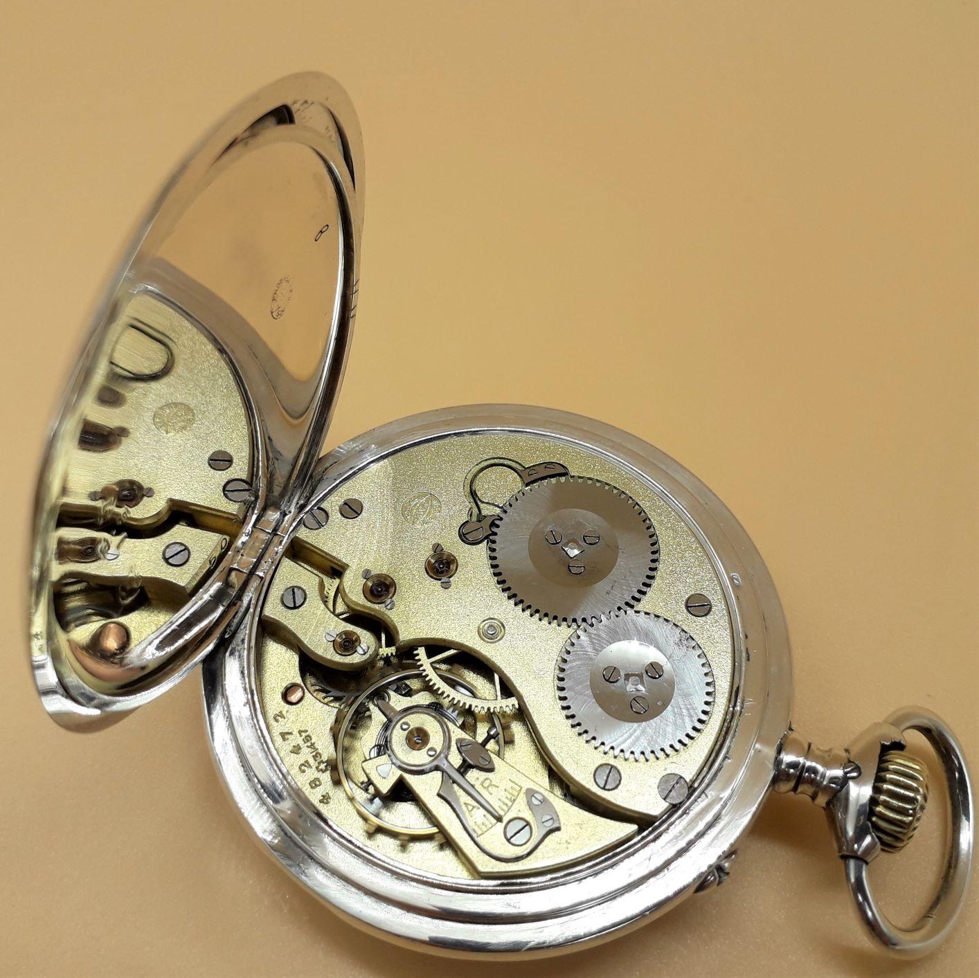 Swiss Pocket Watch by International Watch Co, IWC Rauschenbach