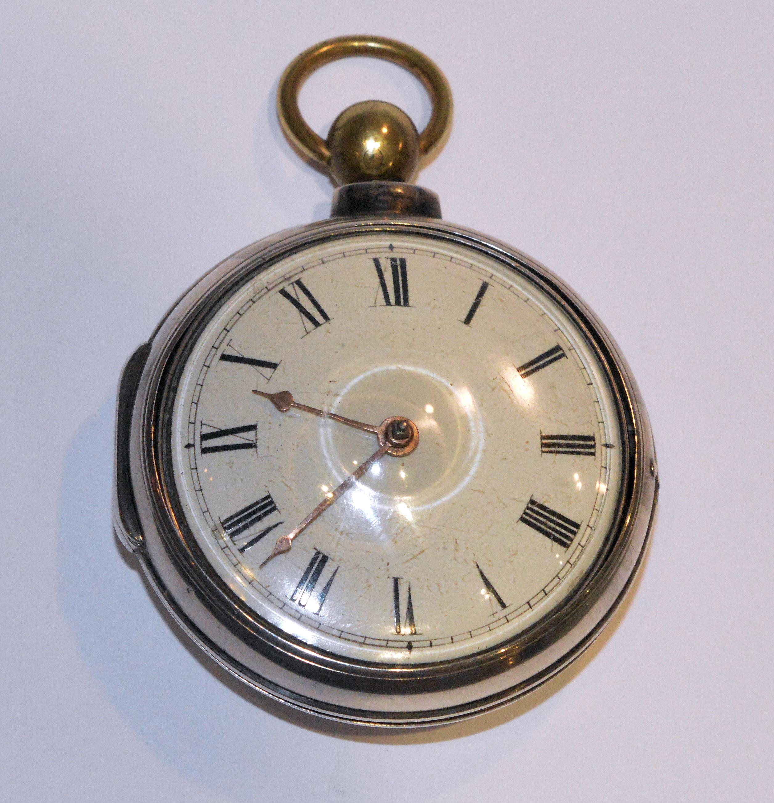 SOLD – Erotic pocket watch, fusee movement, circa 1813 – Moore, Derby.