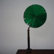 Microscope candle light shade , silk fan screen