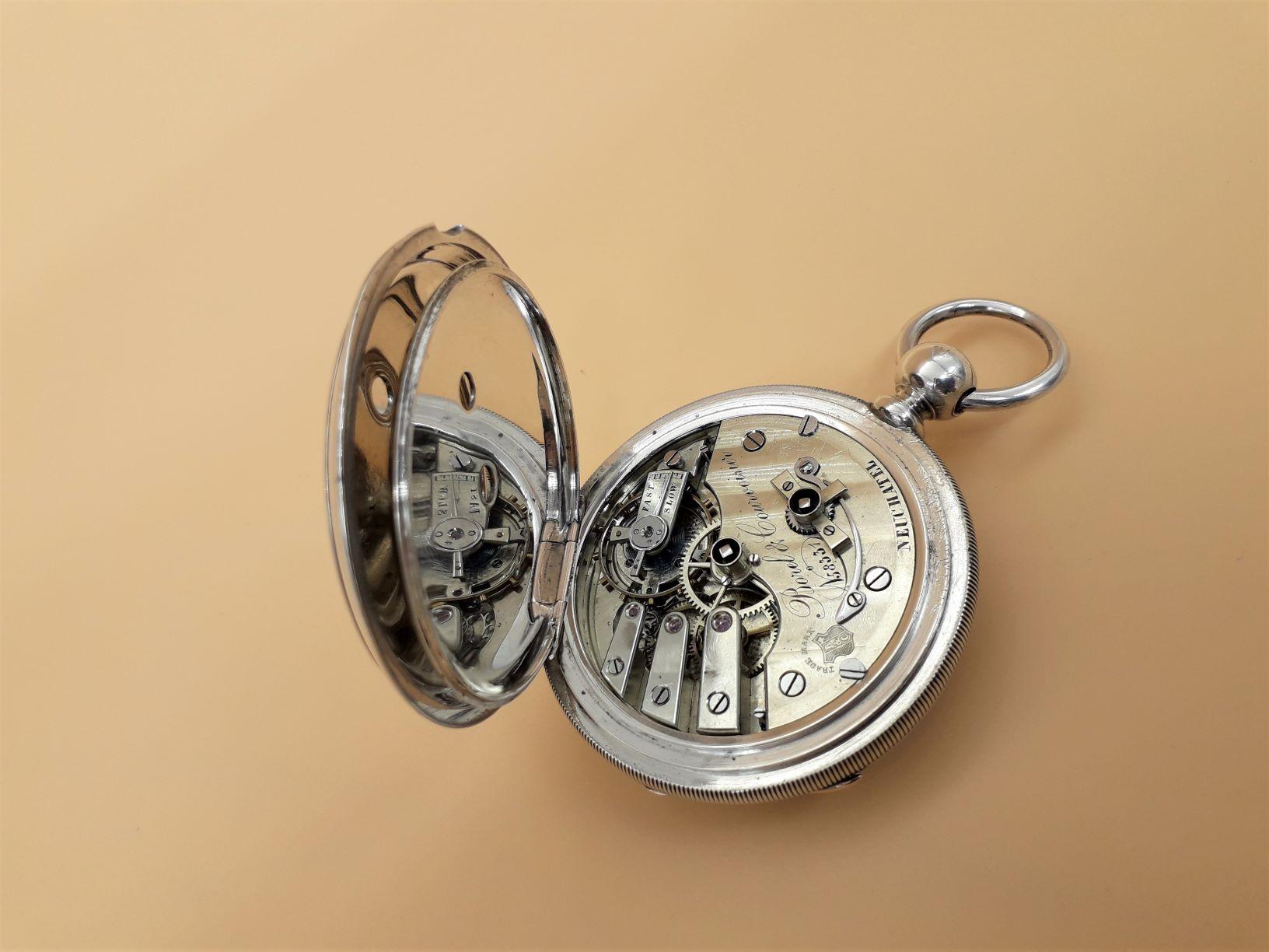 Swiss pocket watch by Borel & Courvoisier, Neuchatel