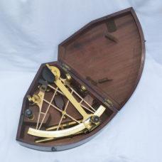 Fine lattice frame sextant – Berge London, late Ramsden.