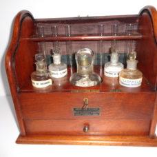 An English medicine box from GEORGE B RITCHIE GLASGOW