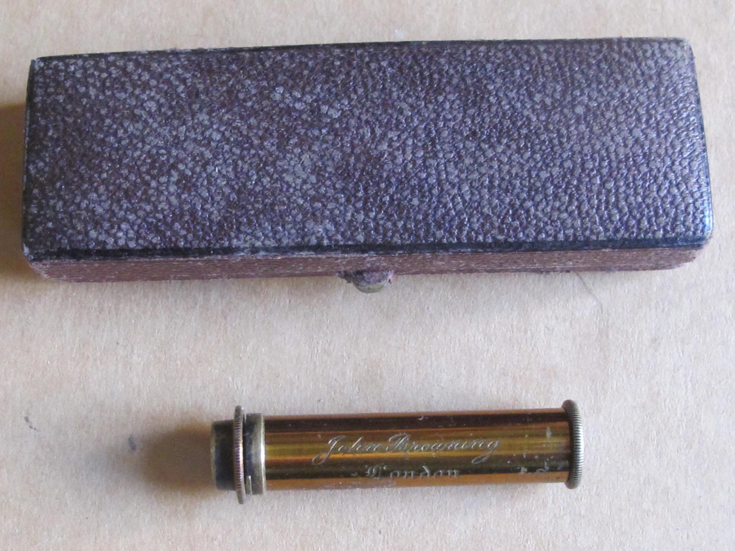 Miniature Spectroscope by John Browning, London