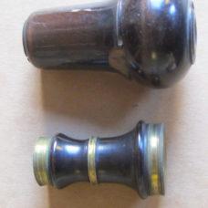 Small Eighteenth Century Fixed Focus Spyglass in Original Shaped Case