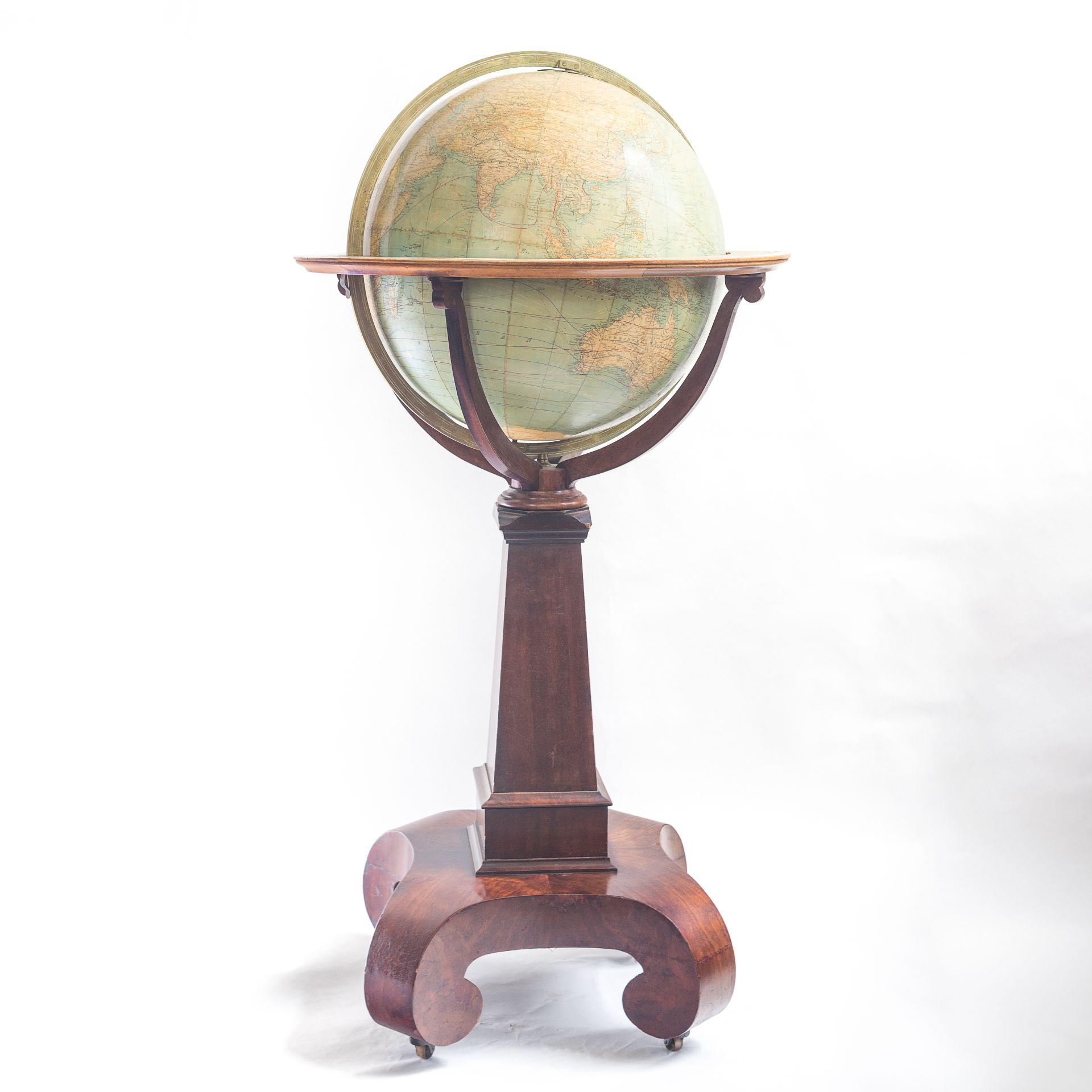 Terrestial globe by W & A.K. Johnston Limited (18 Inch)