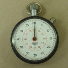 Heuer Stopwatch 502.401 Pocket Watch 1/5 Second 60 Vintage 1970