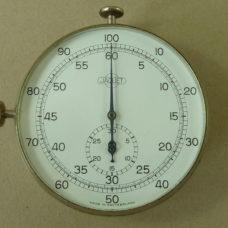 Jaquet Stopwatch Swiss Pocket Watch 1/5 & 1/100 Second 30 Minutes Vintage 1930